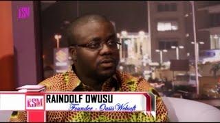 KSM Show- Raindolf Owusu, Tech Entrepreneur hanging out with KSM