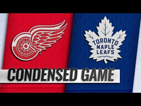09/28/18 Condensed Game: Red Wings @ Maple Leafs