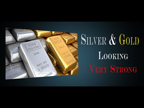 SILVER AND GOLD LOOKING VERY STRONG - STOCK MARKET - WHO'S GOING TO WIN - SELLERS OR BUYERS?