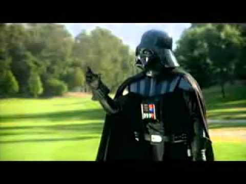 Funny Darth Vader Golf Commercial Youtube