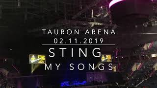 STING MY SONGS - koncert Tauron Arena Kraków 02.11.2019 [HD]