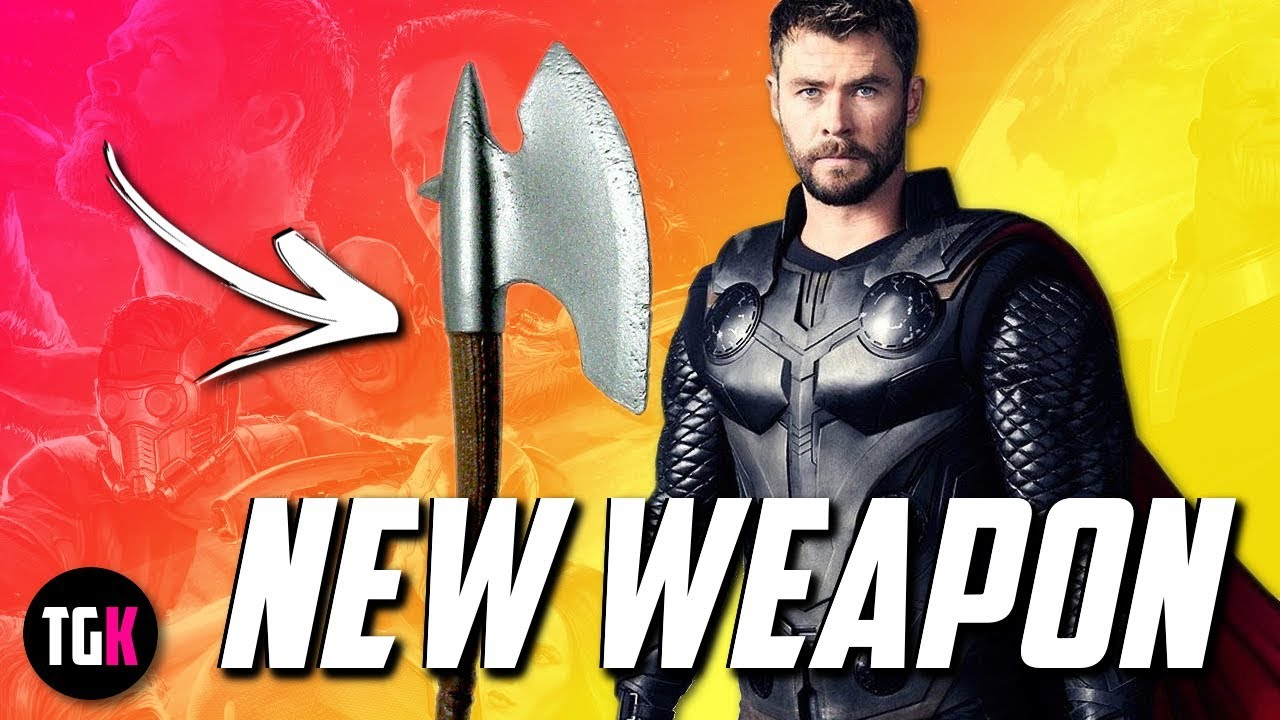 leaked avengers infinity war lego set reveals thor s new weapon