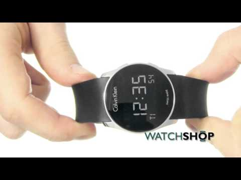Calvin Klein Men's Future Alarm Watch (K5B23TD1)