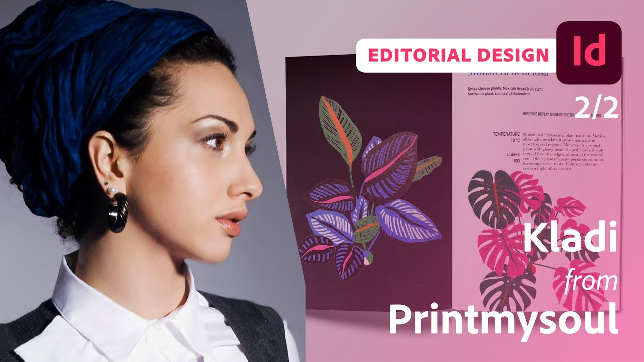 Creating a Digital Document using InDesign with Kladi from Printmysoul - 2 of 2