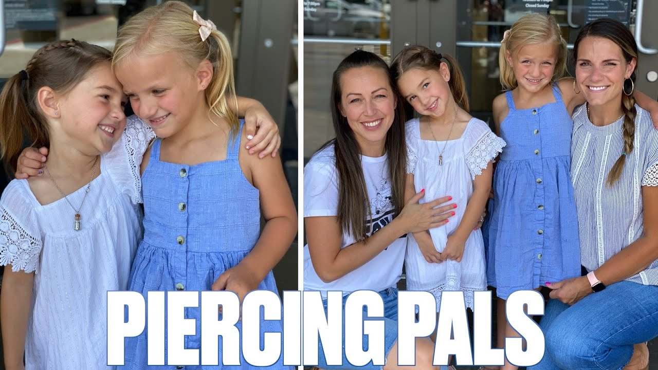FIVE-YEAR-OLD GETS HER EARS PIERCED FOR THE FIRST TIME | PRICELESS REACTION | GETTING EARS PIERCED