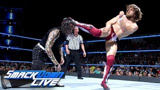 Daniel Bryan vs. Jeff Hardy - Winner faces Samoa Joe next week: SmackDown LIVE, May 22, 2018