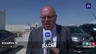 وزير الأشغال يتابع سير العمل بمشروع إعادة تأهيل الطريق الصحراوي - (25-3-2018)
