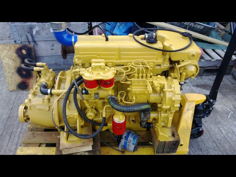 for sale 1992 yr lister cs4 ford 2722e 72hp marine diesel engine package gbp 2 749 youtube. Black Bedroom Furniture Sets. Home Design Ideas