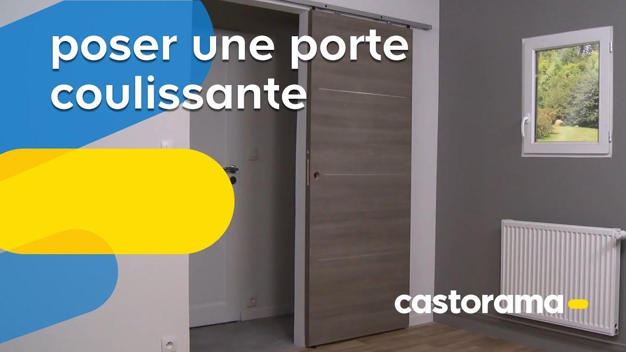 Poser Une Porte Coulissante Castorama YouTube - Porte placard coulissante jumelé avec serrurier 78