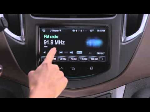 2015 Chevrolet Trax How To Use Mylink Radio Youtube