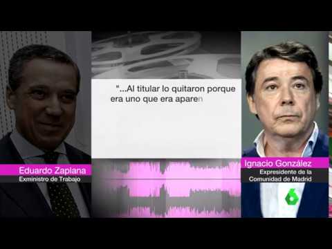Operación Lezo: Ignacio González, Enrique Cerezo y Eduarzo Zaplana