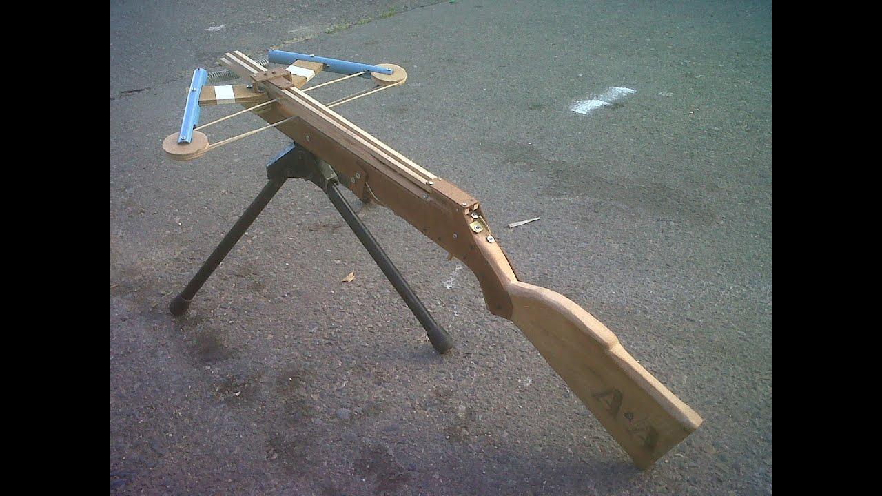 Como hacer una ballesta lanzadardos youtube - Como fabricar maceteros de madera ...