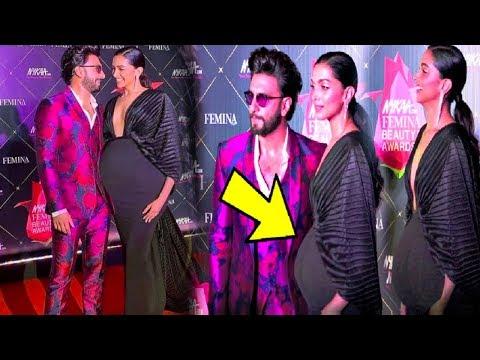 PREGNANT Deepika Padukone's Baby Bump Is Clearly Visible At Nyka Beauty Awards2019