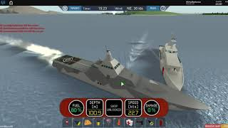 Roblox DSS 3 New Update! Visby Class Ship and New Wakes!