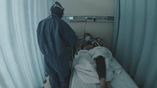 A look at a special ward for critically ill patients in Wuhan