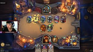 Lets do Warrior Dungeon Run | Hearthstone
