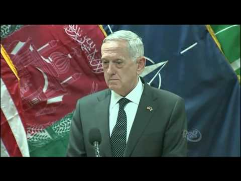 Download Youtube: Defense Secretary Mattis Speaks to the Press in Afghanistan