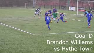 Ashford United goal of the month January 2018