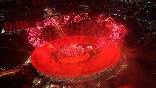 Parade Kembang Api Spektakuler Opening Asian Games 2018