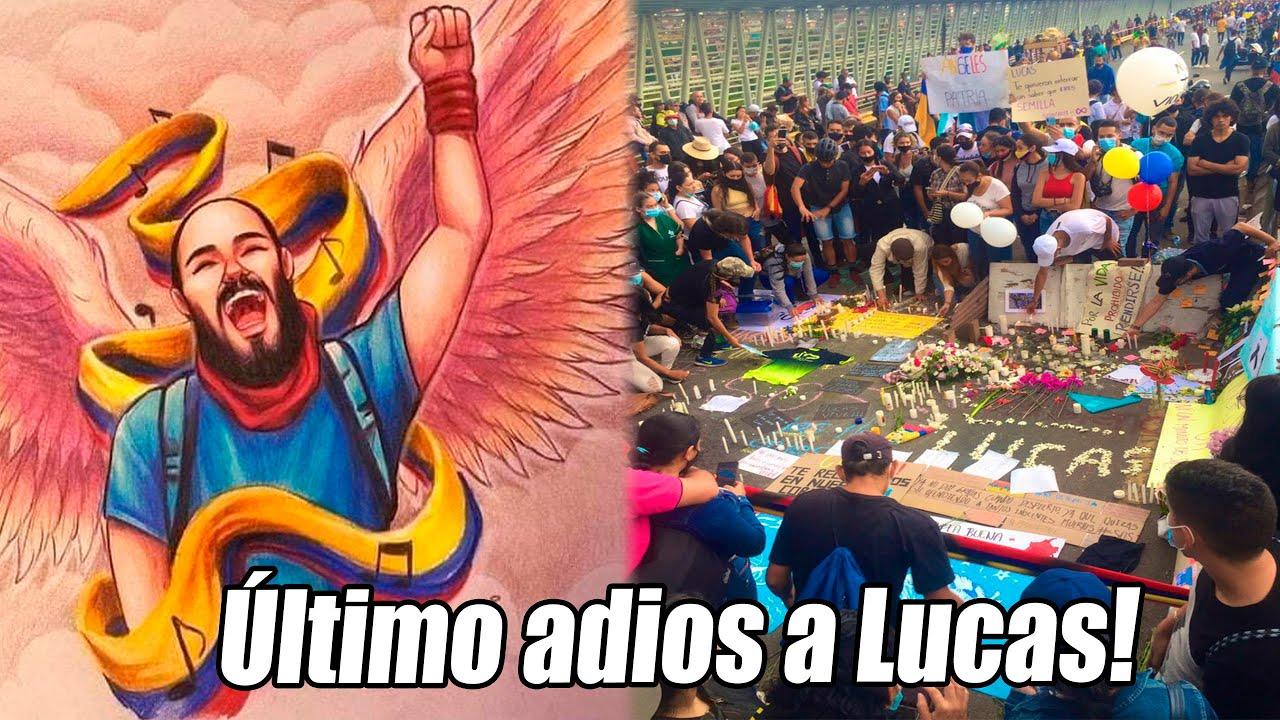 Ultimo adios a Lucas Villa, así fue despedido por miles de colombianos!