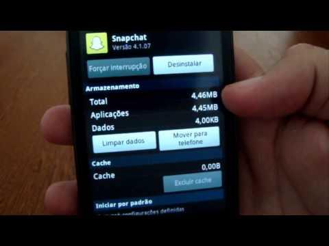 Como mover os aplicativos para o cartão SD no Android