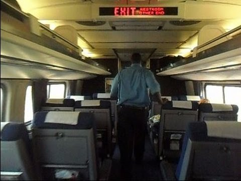 Amtrak Train The Silver Star Train Ride Tampa To Lakeland Florida