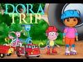 Dora skating adventure cartoon and game *NEW*