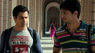 Sidharth Malhotra punished by the coach Ronit Roy - Student Of The Year