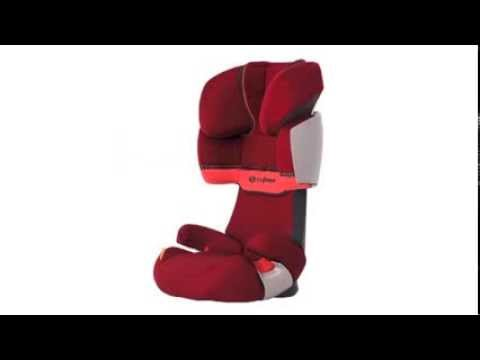 cybex silver solution x fix kinderautositz youtube. Black Bedroom Furniture Sets. Home Design Ideas