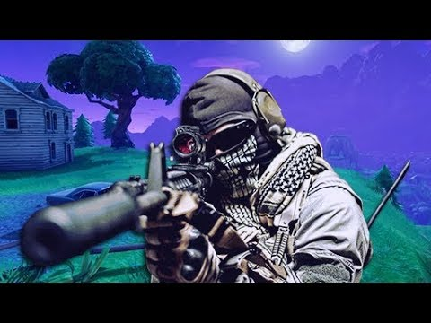 Call of Duty Athlete Plays Fortnite