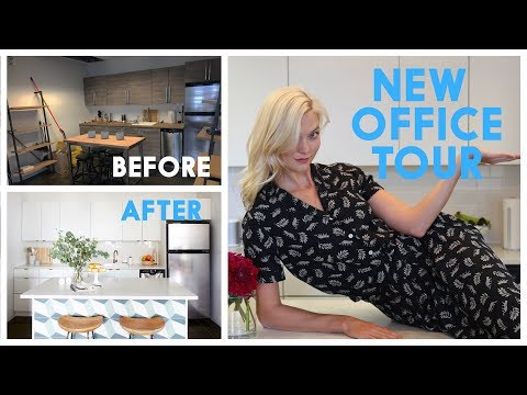 New Office TOUR!! | Karlie Kloss - YouTube