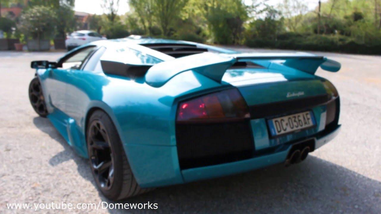 Lamborghini Murcielago 40th Anniversary Edition Pure Sound Youtube