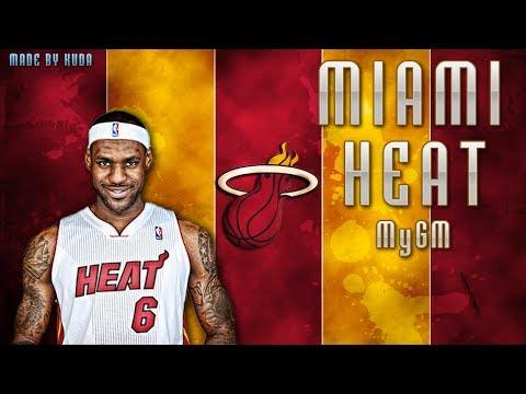 NBA 2K14 Next Gen My GM Mode Ep.1 - Miami Heat | Lebron James with a Three-Peat? | Xbox One