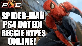 Spider-Man on PS4 Dated + New Info! Reggie Once Again Hypes Nintendo Paid Online! | PE NewZ