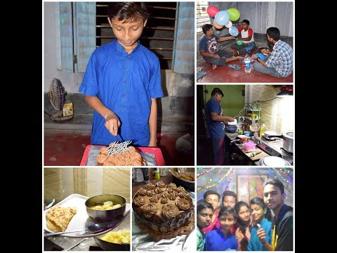 Soham's Friend  Birthday Party Celebration Vlog with  My Catering with Sutarday Routine Vlog #165