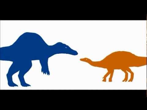 PBA:Spinosaurus vs Edmontosaurus