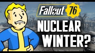 Fallout 76 - Possible Nuclear Winter? Snowy Landscape? - Speculation and Theories