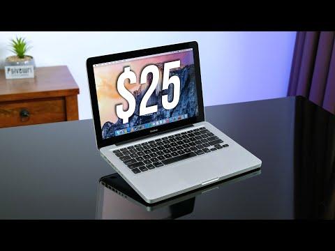 $25 Apple Macbook From eBay... Gets Restored!