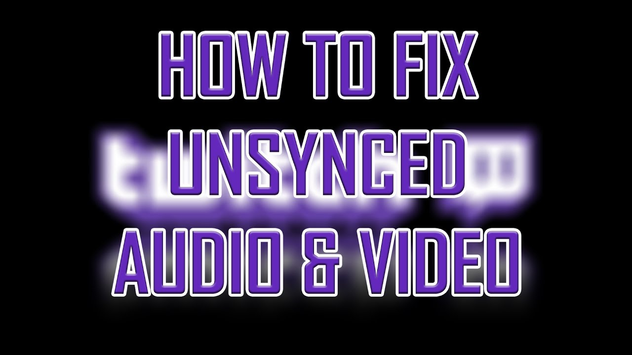 Twitch - How to Fix Unsynced Video/Audio and Stuttering #2 (Google Chrome)