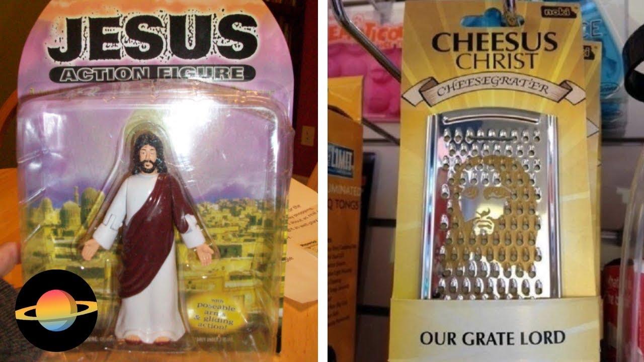 10 najdziwniejszych gadżetów inspirowanych Jezusem Chrystusem