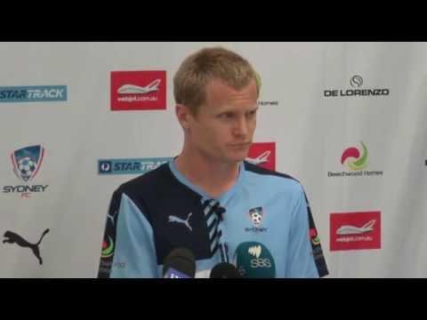 Matt Simon Pre Mariners | Player Interviews | Sydney FC