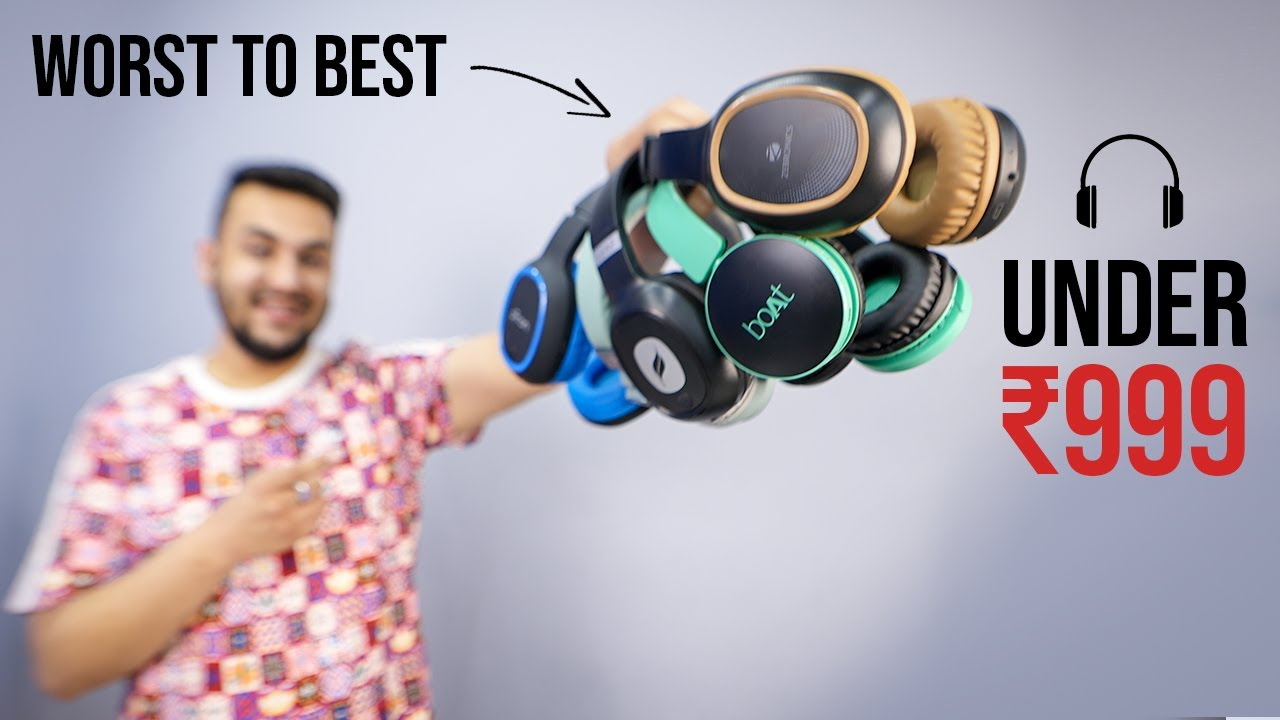 Download Ranking India's BEST Selling Headphones Under 1000 From Worst to Best | TechBar