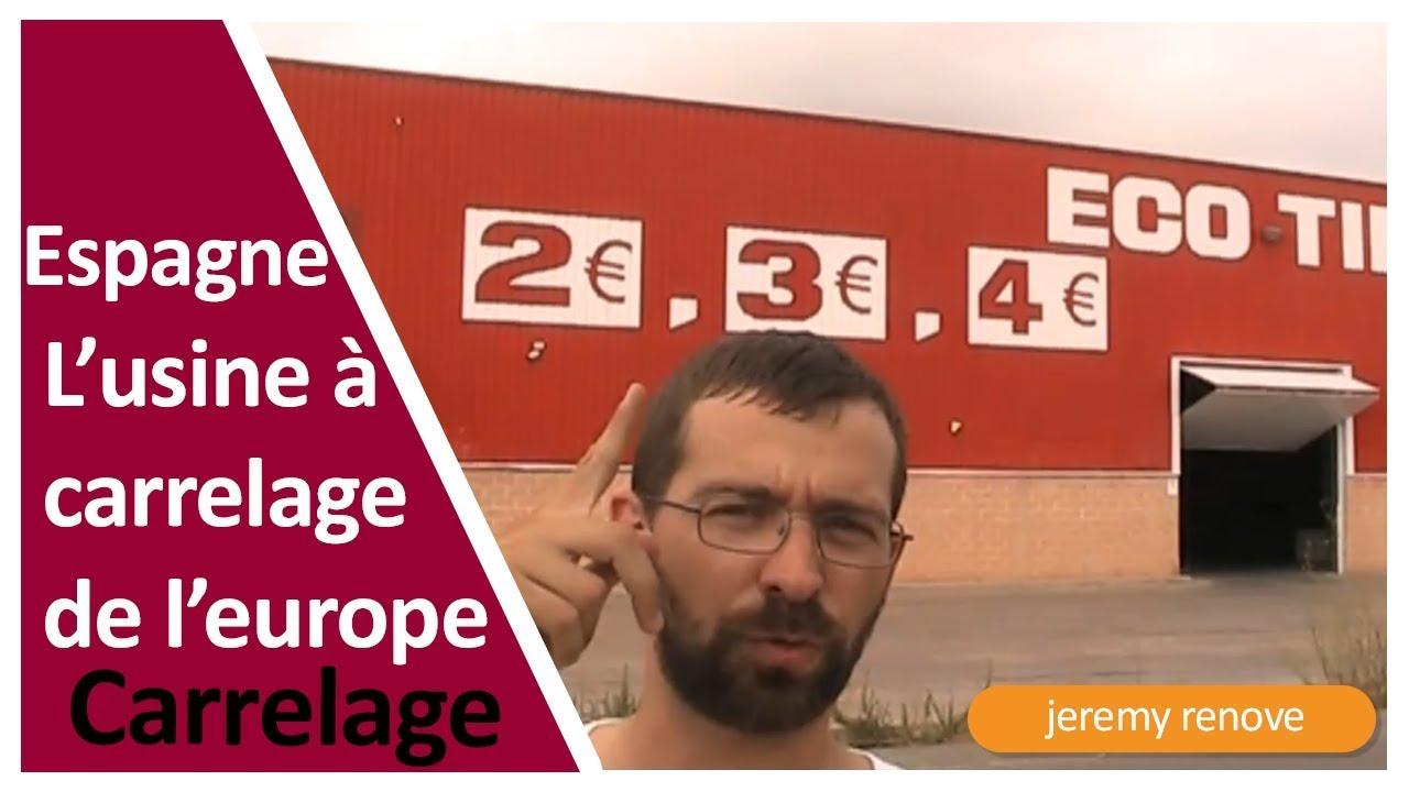 Espagne Lusine à Carrelage De Leurope Youtube
