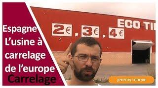 Espagne Le Carrelage A Prix Discount Youtube