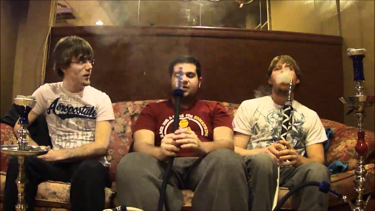 Smoking at Smoka Hookah Lounge