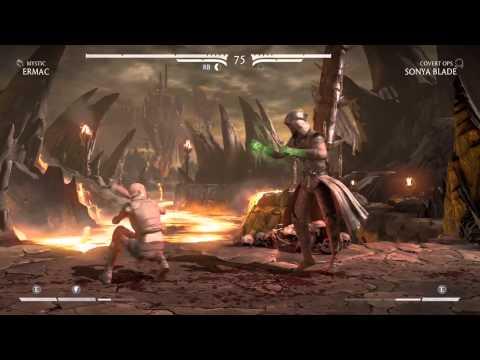 Mortal Kombat X - Ermac: Nether Force Brutality.
