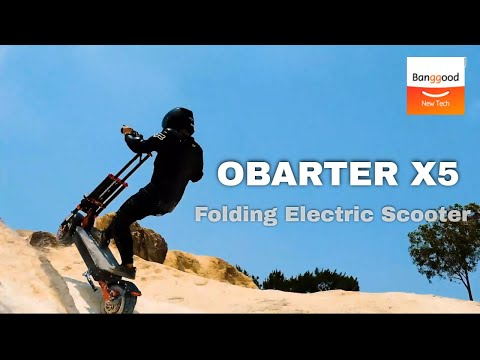 OBARTER X5 Folding Moped Electric Scooter - Banggood New Tech