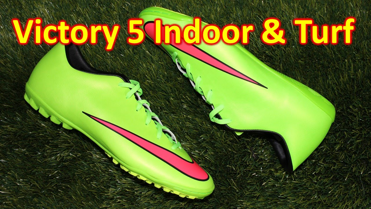 premium selection 33121 370c0 Nike Mercurial Victory 5 Indoor & Turf - Review + On Feet