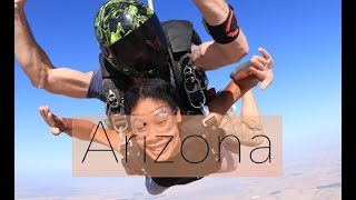 Arizona Road Trip | Eloy | Day 2 Part 1 | Skydiving