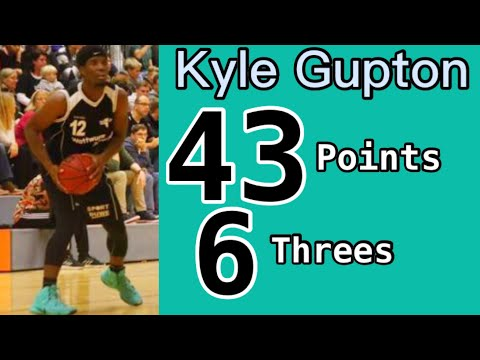 Kyle Gupton Highlights vs. Westerstede Eagles - 43 points, 6 three-pointers (35 in 2nd half)